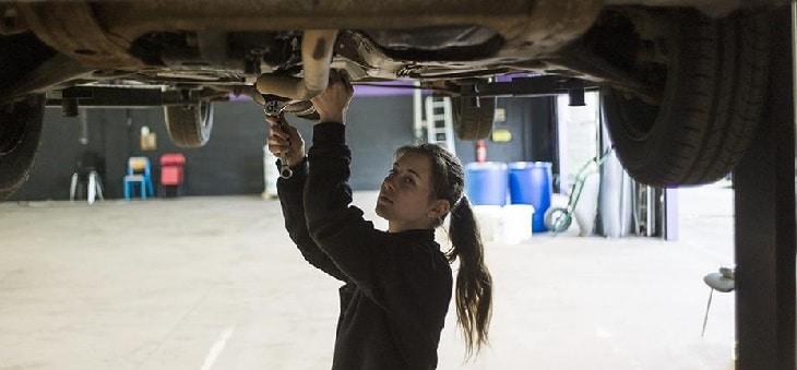 cours mécanique pour femmes