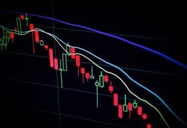 Une courbe financière